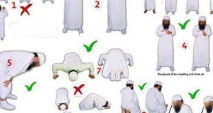 صور طريقة الصلاة الصحيحة بالصور , الطريقه الصحيحة لصلاة بالصور