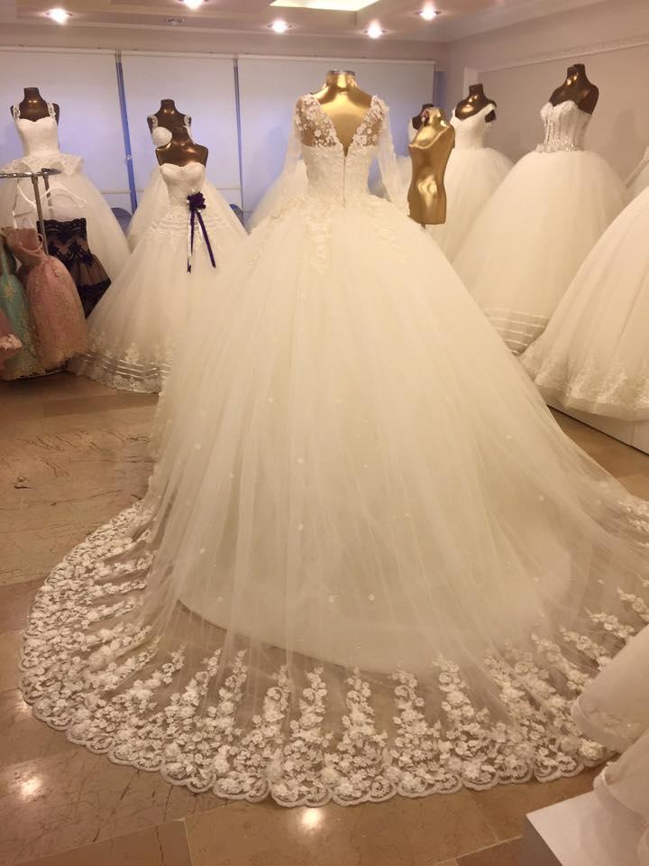 بالصور احدث فساتين الزفاف , احدث واجمل فساتين الزفاف 5575 2
