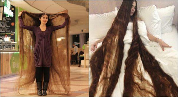 بالصور اطول شعر في العالم , صور اطول شعر فى العالم 5611 2