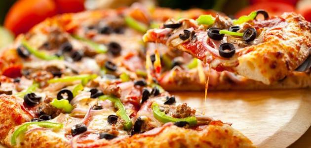 صور كيفية تحضير البيتزا , ماهى كيفية تحضير البيتزا