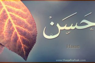 صور معنى اسم حسن , ماهو معنى اسم حسن