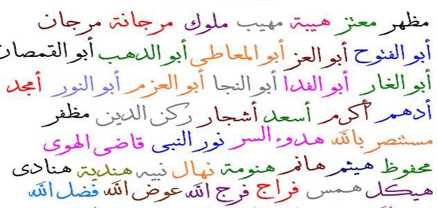 بالصور اسماء اولاد حلوه , صور اسماء اولاد حلوه 5711