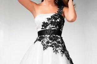 صور فساتين قصيرة فخمة , فستان قصير فخم للبنات