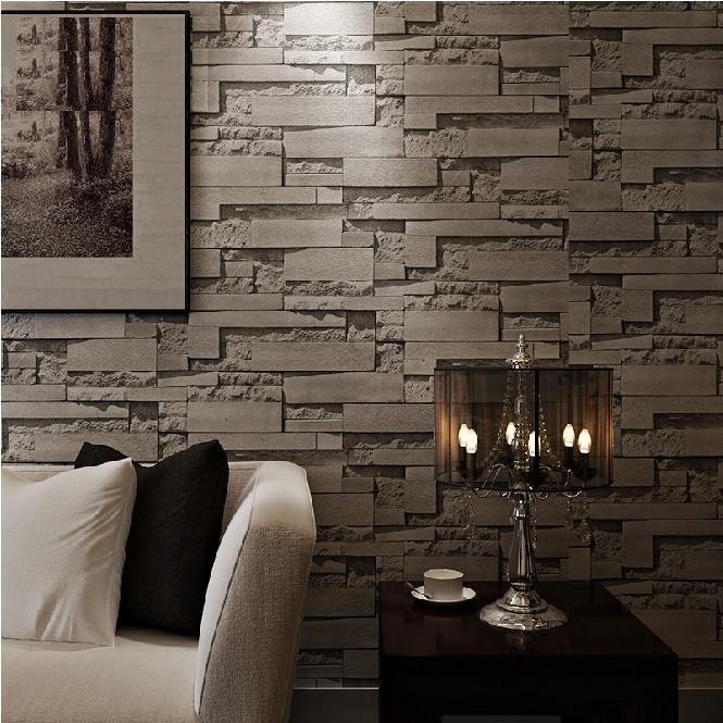 صور ورق جدران حجر , ديكورات بالصور لورق جدار بشكل الاحجار
