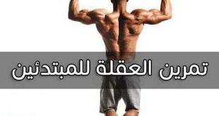 بالصور تمرين العقلة , اهم تمارين العقلة لبناء العضلات للمبتدئين 4790 2 310x165