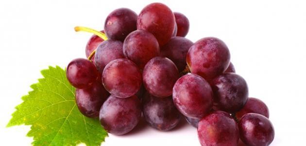 صورة فوائد العنب الاحمر , ماهى فوائد العنب الاحمر