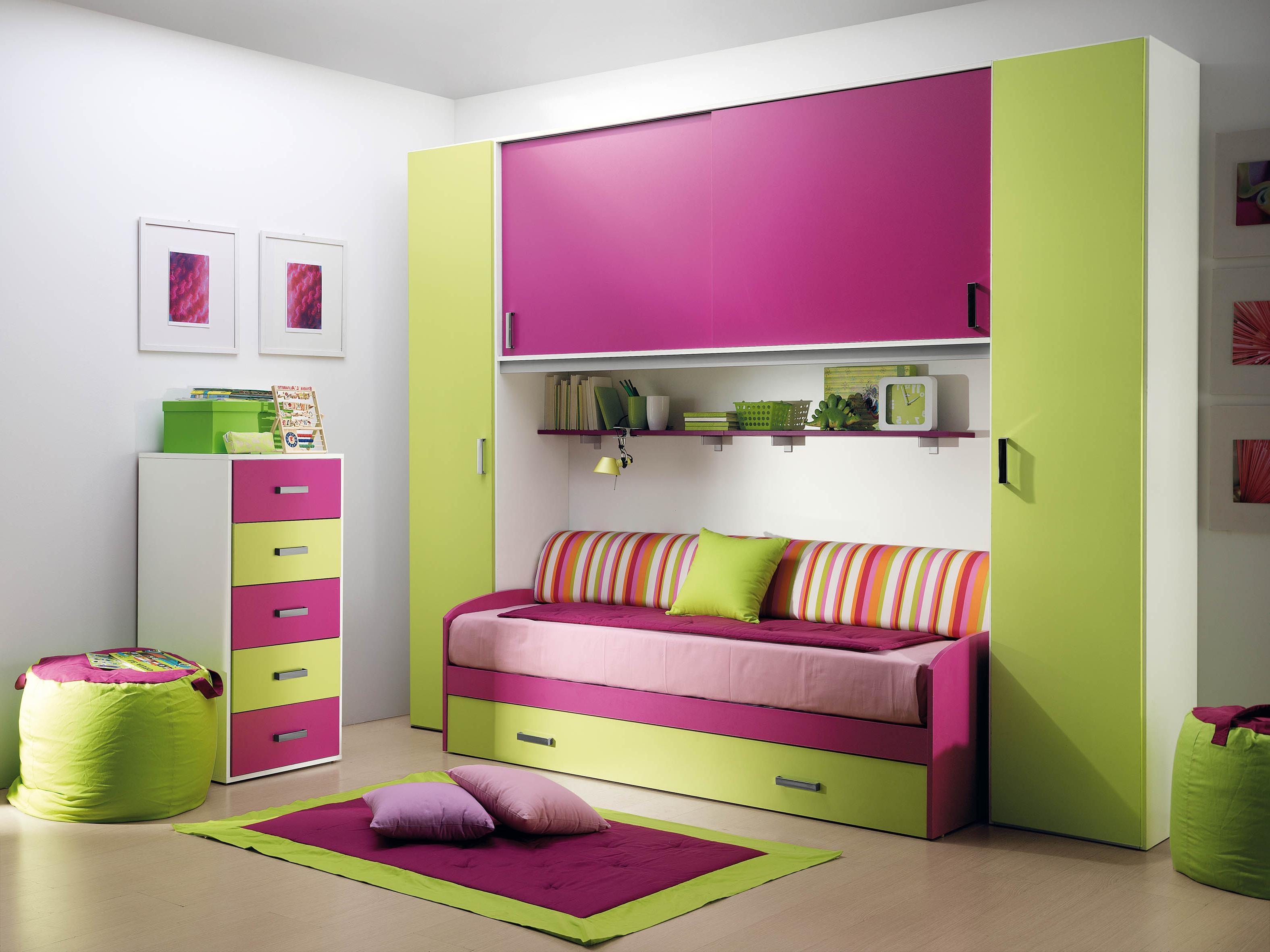 صور غرف نوم بنات , غرف حديثه للفتيات