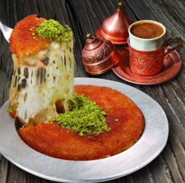 صور كنافة تركية , طريقه عمل الكنافة التركية