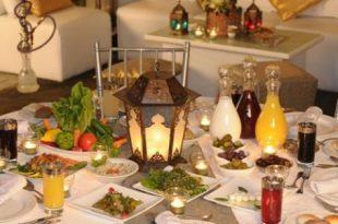 صور سفرة رمضان , رمضان على السفرة
