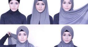 بالصور صور لفات حجاب , اجمل لفات الطرح 1543 11 310x165