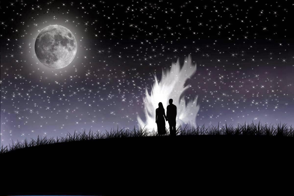 صور صور عن الليل , الليل و نجومه و القمر