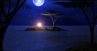 صورة صور عن الليل , الليل و نجومه و القمر
