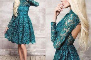 صور فساتين سهرة قصيرة 2019 , اجمل الفساتين القصيرة للسهرات