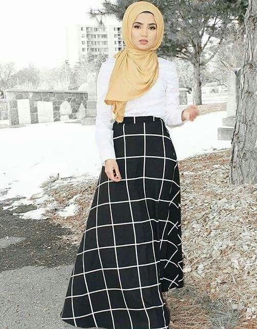 بالصور اشيك ملابس محجبات , افضل ملابس محجبات 2501 11