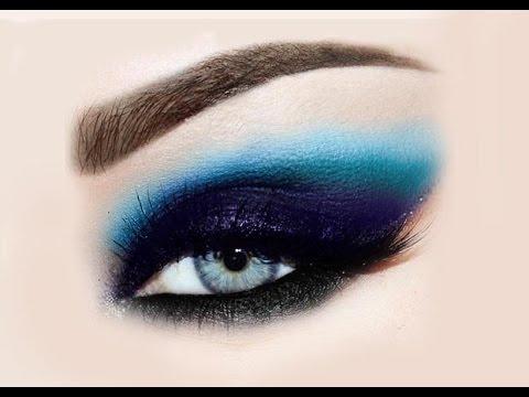 صور مكياج عيون لبناني , مكياج عيون ناعم وهادئ