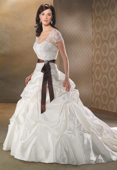 بالصور صور عن العروس , اجمل فستان يوم الزفاف 4181 13