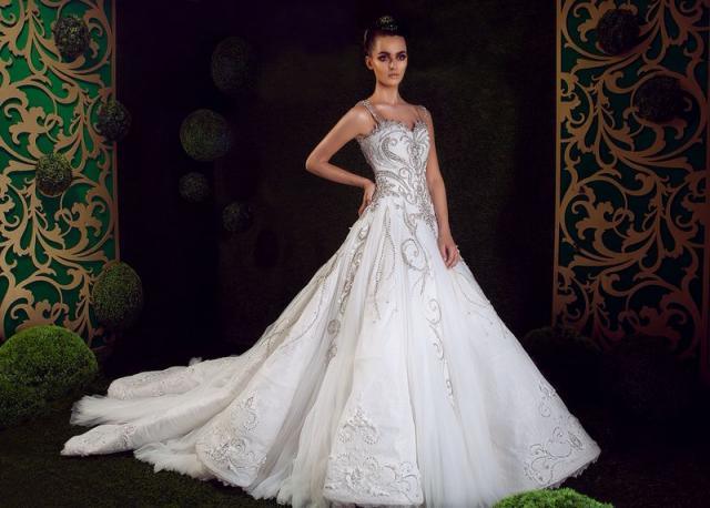 بالصور صور عن العروس , اجمل فستان يوم الزفاف 4181 18