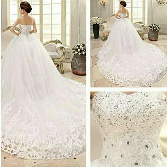 بالصور صور عن العروس , اجمل فستان يوم الزفاف 4181 23