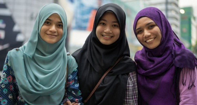 صورة صور جميلة بنات محجبات , بنات ماليزيا الجميلات بالحجاب