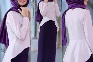 صورة اخر صيحات الموضة للمحجبات , اجمل موديلات حجاب نسائي رائع