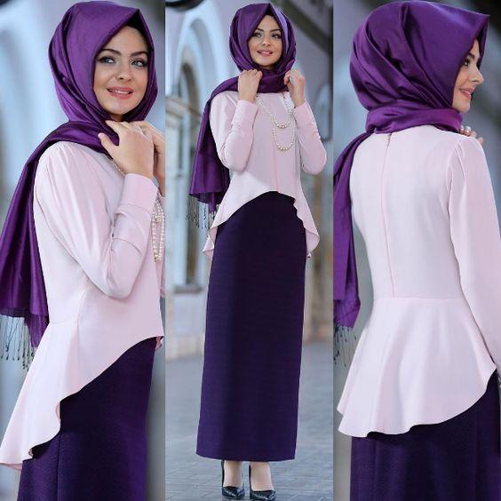 صور اخر صيحات الموضة للمحجبات , اجمل موديلات حجاب نسائي رائع