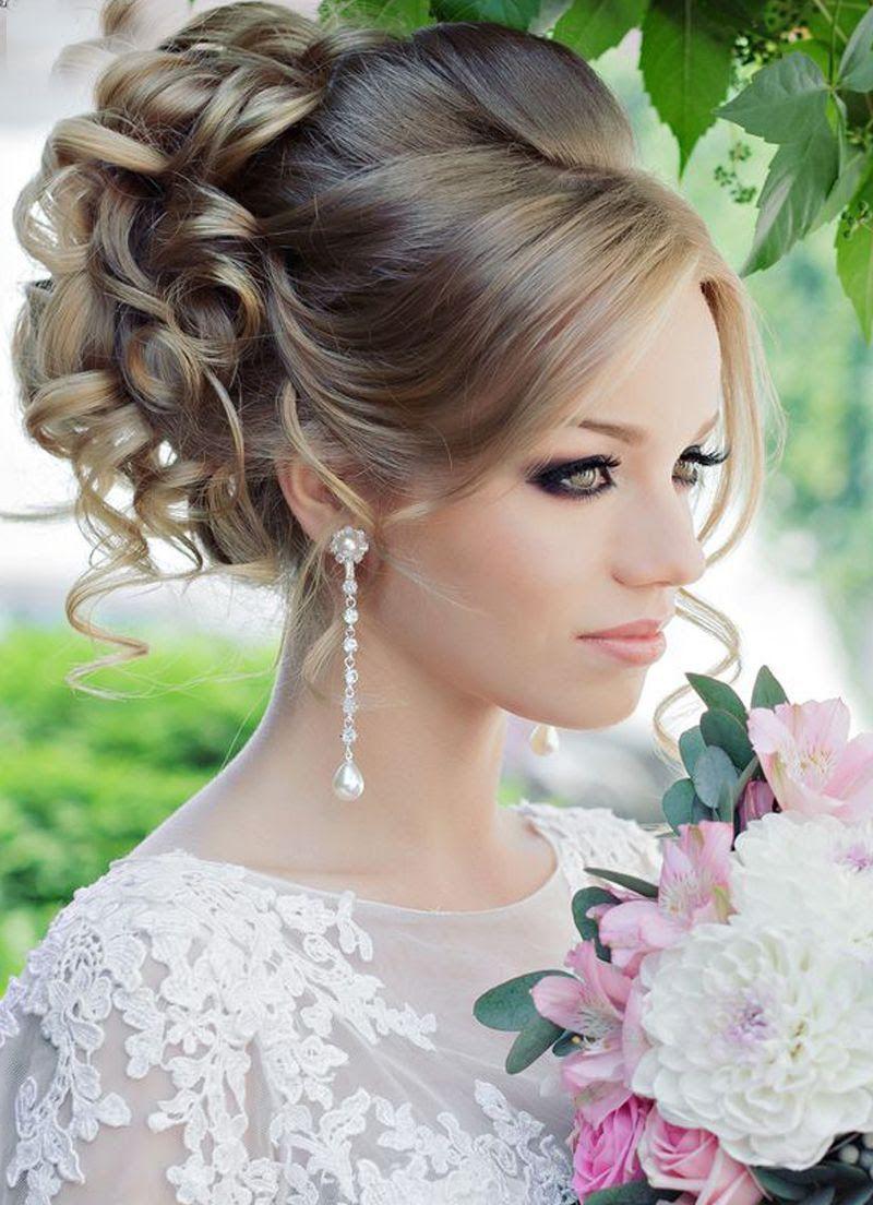 صور تساريح 2019 , اجمل تسريحات شعر للعرائس في حفل الزفاف