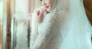 بالصور صور عروس , احلى بنات محجبات عروسات قمر 4859 11 310x165