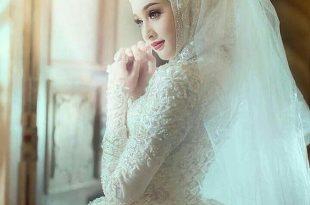 صور صور عروس , احلى بنات محجبات عروسات قمر