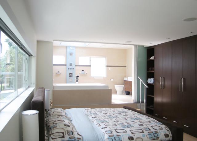 صورة حمامات داخل غرف النوم , اجمل ديكور حمام بغرفة النوم