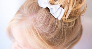 صورة بالصور تسريحات شعر للاطفال , صور تسريحة بنات بسيطة