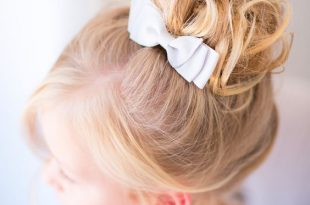 صور بالصور تسريحات شعر للاطفال , صور تسريحة بنات بسيطة