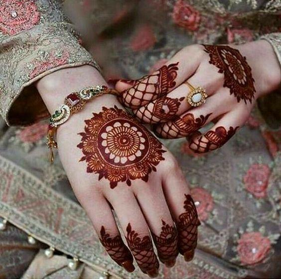 صورة رسومات حنة رقيقة جدا , اجمل صور حنة مصري و خليجي و هندي للعرائس