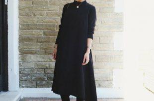 صور ملابس للحوامل المحجبات , اجمل موديلات لبس خروج للحوامل المحجبة
