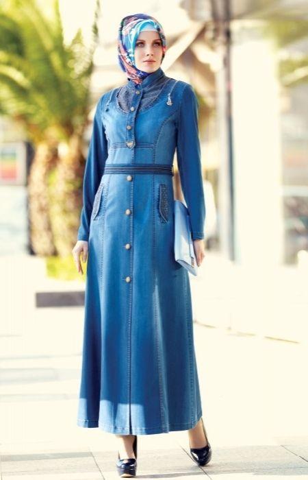 صور ملابس محجبات تركية , اجمل جلباب تركي للبنات المحجبة للخروجات