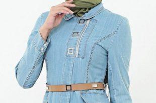 صورة ملابس محجبات تركية , اجمل جلباب تركي للبنات المحجبة للخروجات