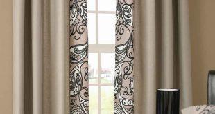 صور ستائر غرف نوم , تجميل النوافذ باحلى الستائر
