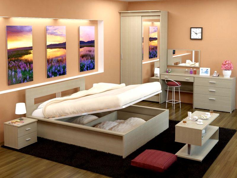 صورة غرف نوم عرسان , التميز و اتاليق في تصاميم غرف النوم الكبيره