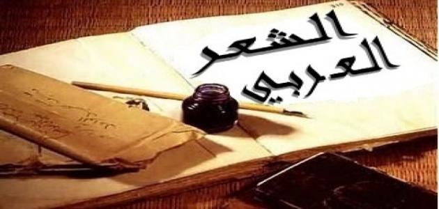 صور الشعر العربي , روعة و جمال الشعر العربى