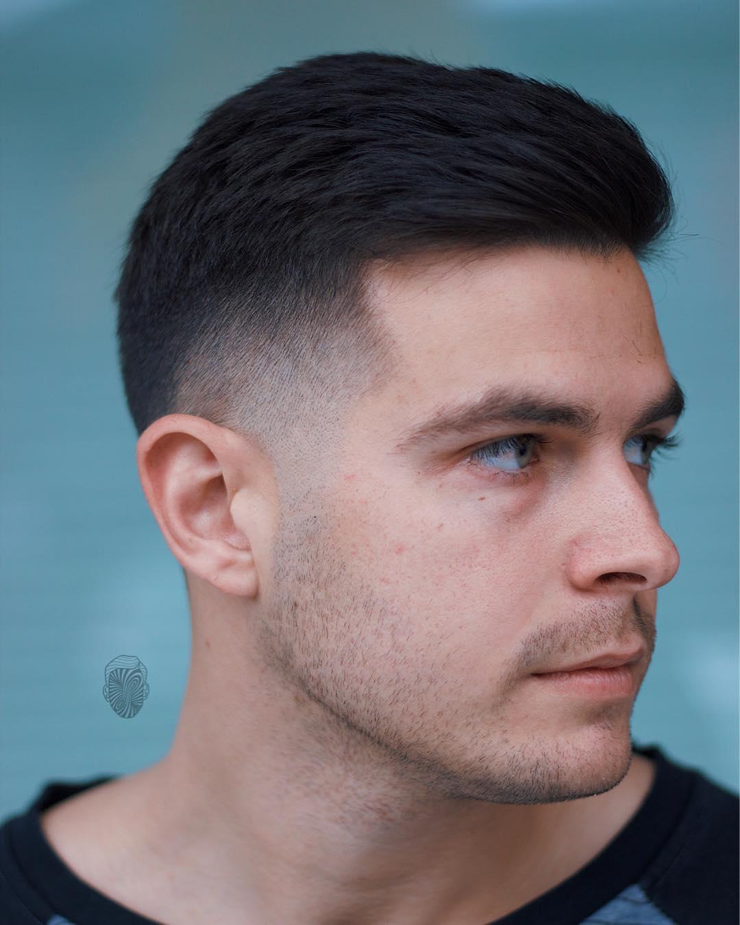 بالصور احدث قصات الشعر للرجال , اجعل شعرك اكثر تالق 1278 8