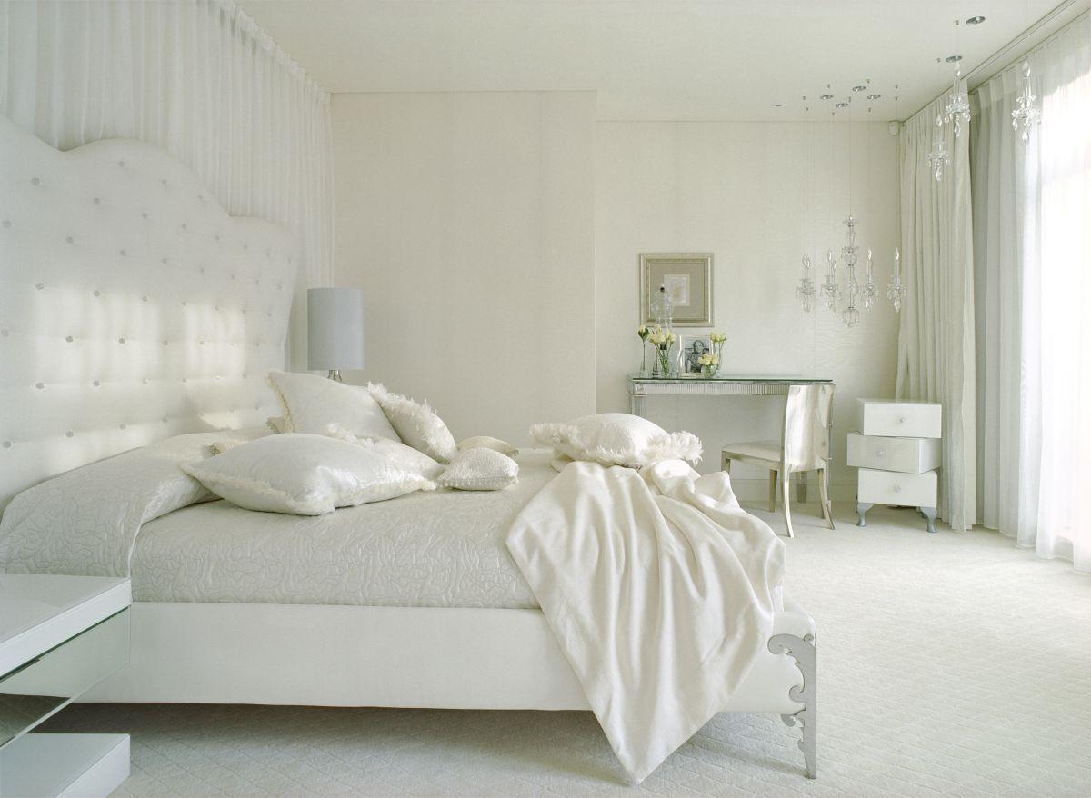 بالصور غرف نوم بيضاء , الابيض في غرفه نوم اجمل 1339 10