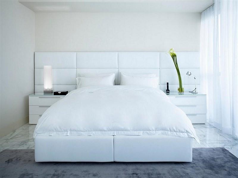 بالصور غرف نوم بيضاء , الابيض في غرفه نوم اجمل 1339 2