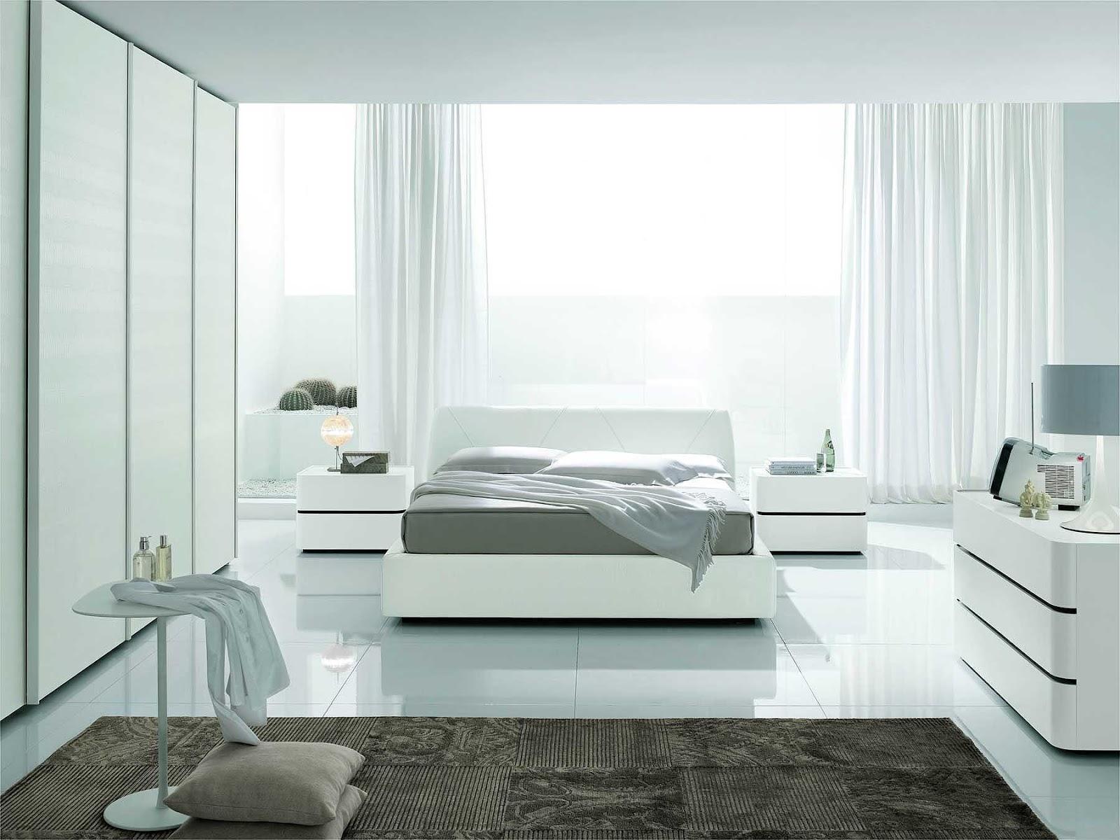 بالصور غرف نوم بيضاء , الابيض في غرفه نوم اجمل 1339 4