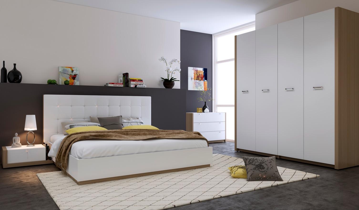 بالصور غرف نوم بيضاء , الابيض في غرفه نوم اجمل 1339 8