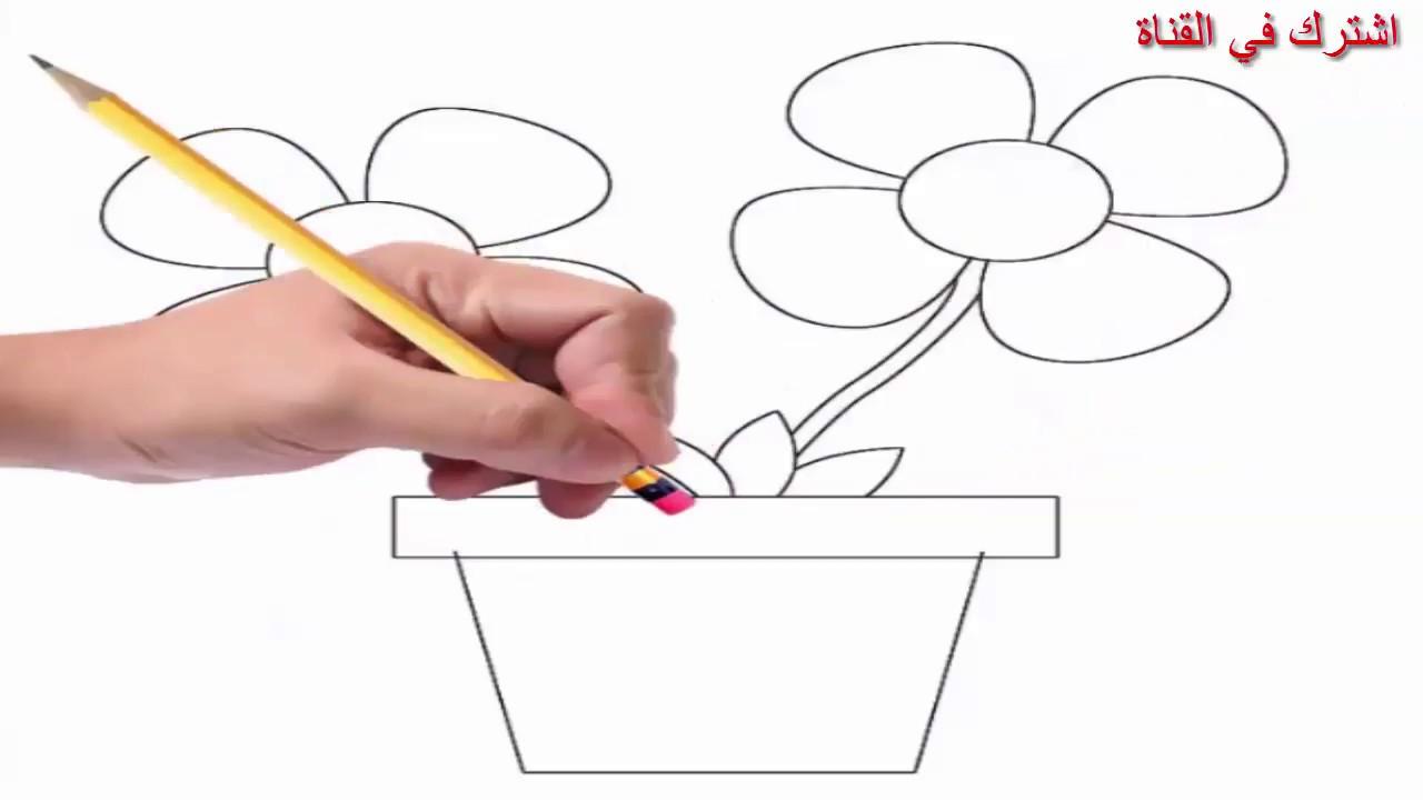 بالصور رسومات سهلة وجميلة , رسومات سهله لطفلك 1357 4