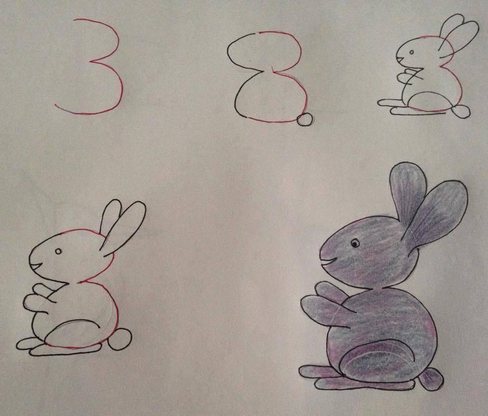 بالصور رسومات سهلة وجميلة , رسومات سهله لطفلك 1357 5