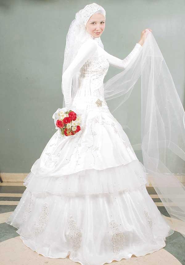 بالصور صور فساتين اعراس , اجمل و احلى فستان لاجمل عروس 1358 5