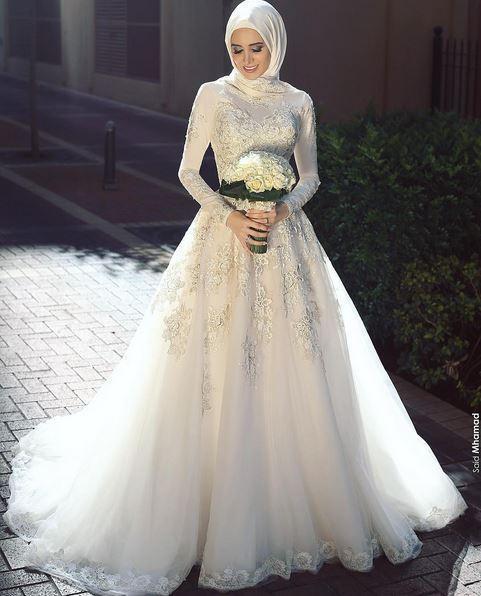 بالصور صور فساتين اعراس , اجمل و احلى فستان لاجمل عروس 1358 9