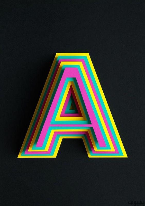 بالصور اجمل الصور عن حرف a , حرف ال a حرف الجميلات 1382 12