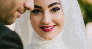 بالصور صور عرايس محجبات , روعة و جمال العرائس المحجبات 1383 10 310x165