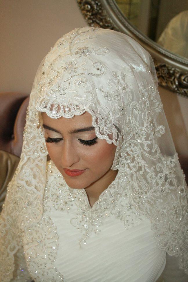 بالصور صور عرايس محجبات , روعة و جمال العرائس المحجبات 1383 5